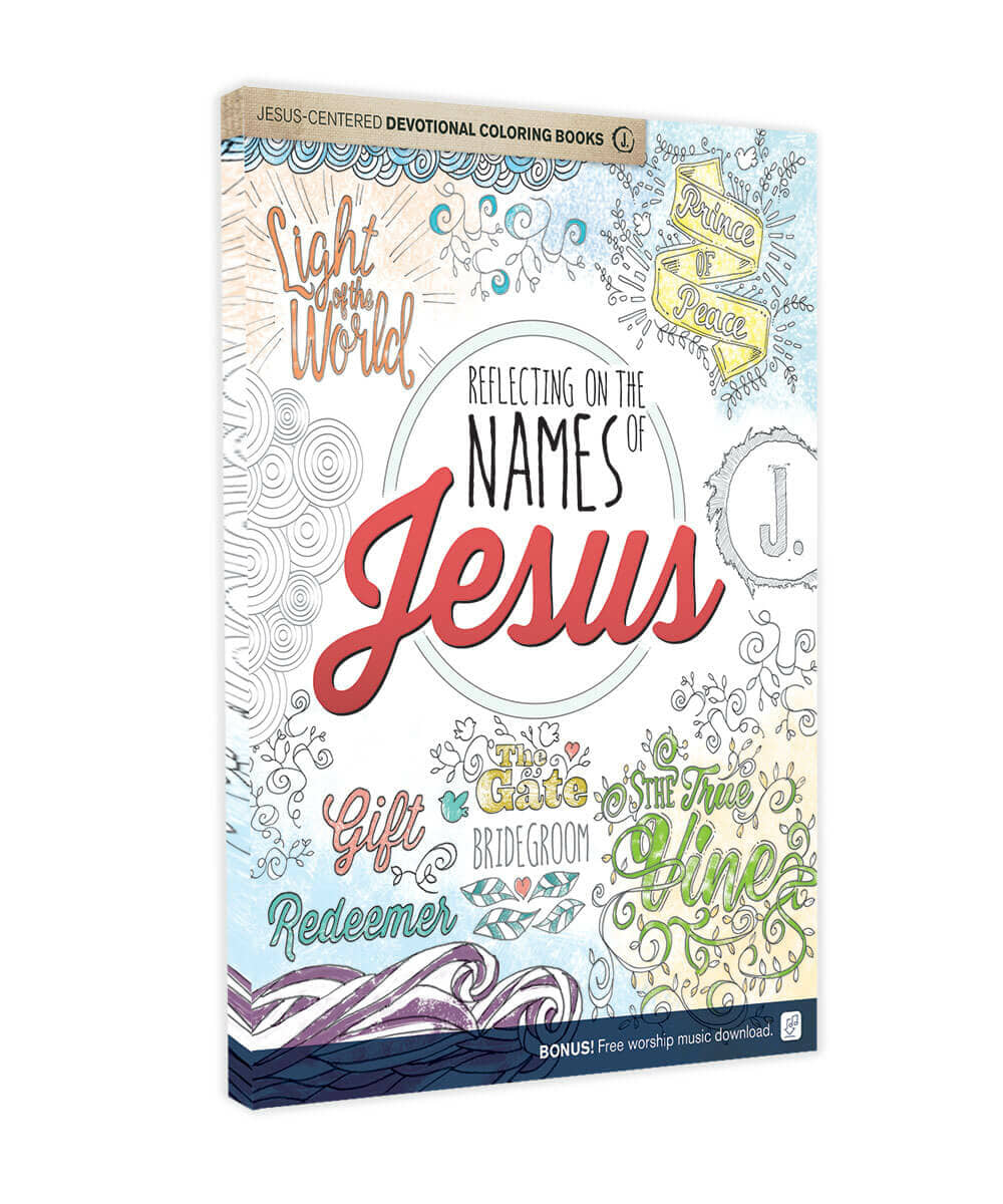 Jesus-Centered Devotional Coloring Books: Reflecting on the Names of Jesus