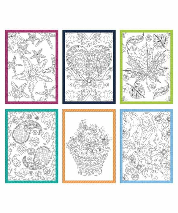 Coloring Creations Greeting Cards - Serenity