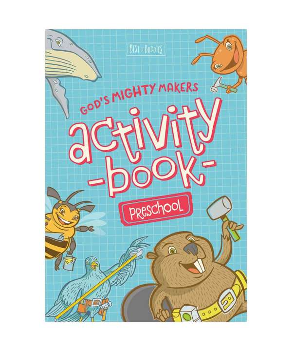 God's Mighty Makers Preschool Activity Book