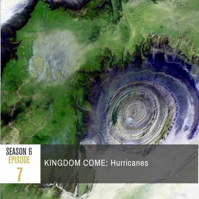A meteoritical view of a hurricane.